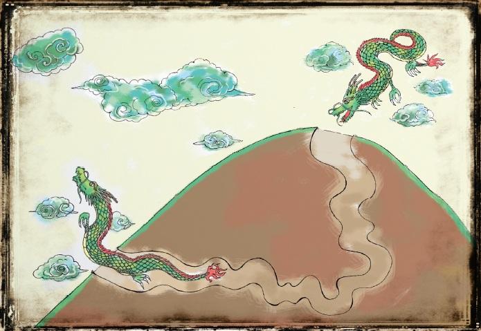 カンボジア昔話③「龍の洞窟とウドン山の大仏」