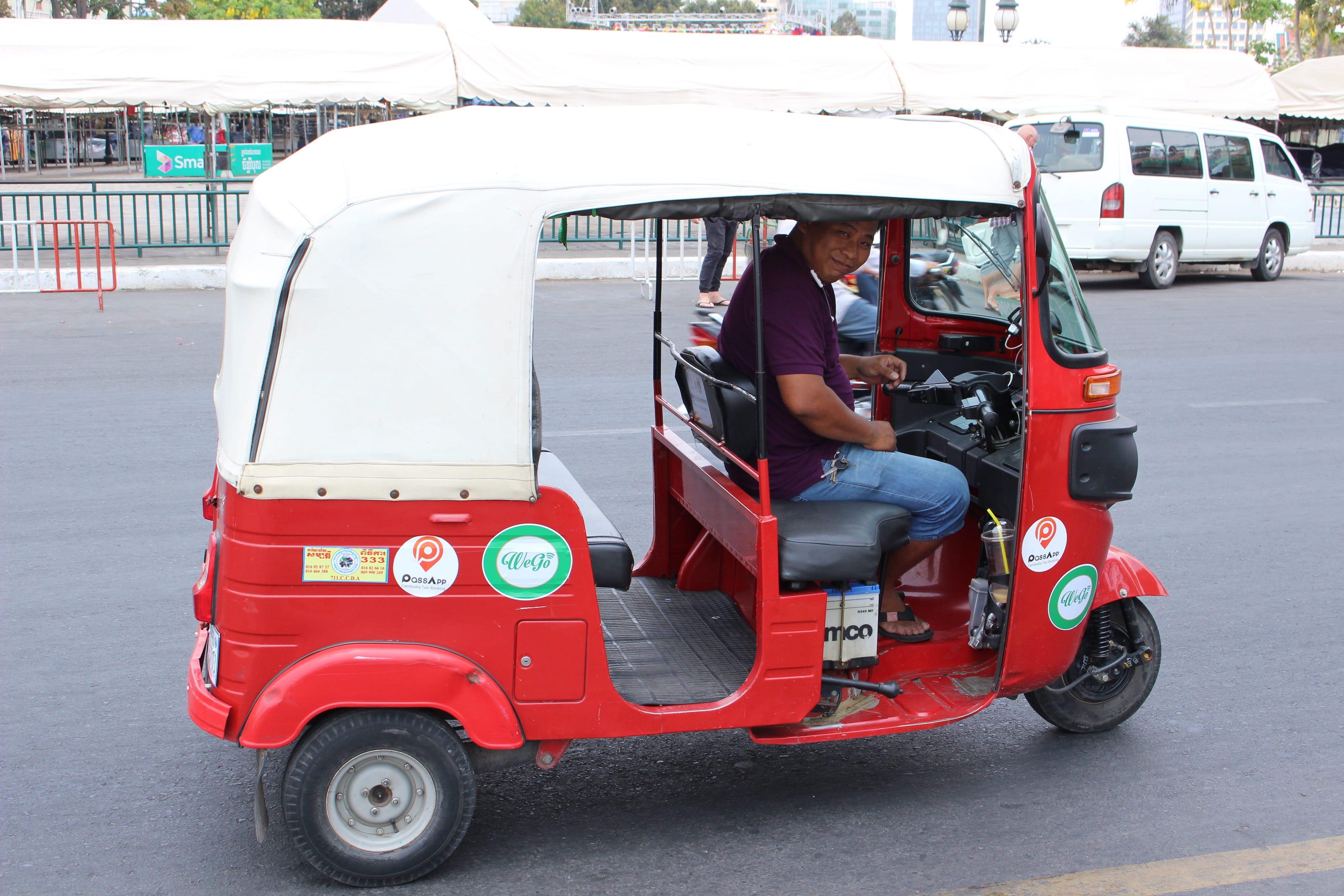 いつでもどこでもスマホで呼び出し! カンボジア生活に必須の配車アプリ使用レポート