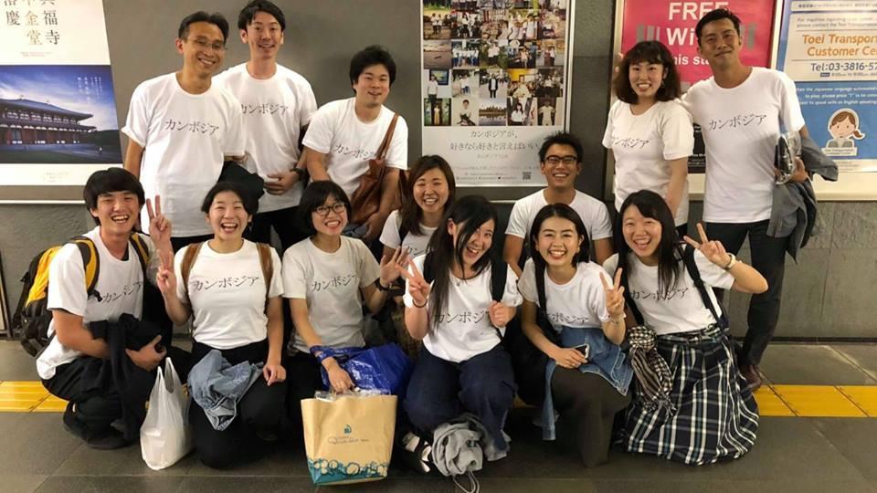 コミュニケーションが生まれるTシャツ「カンボジアT2.0」【発案者ハラハタ ミオさん】