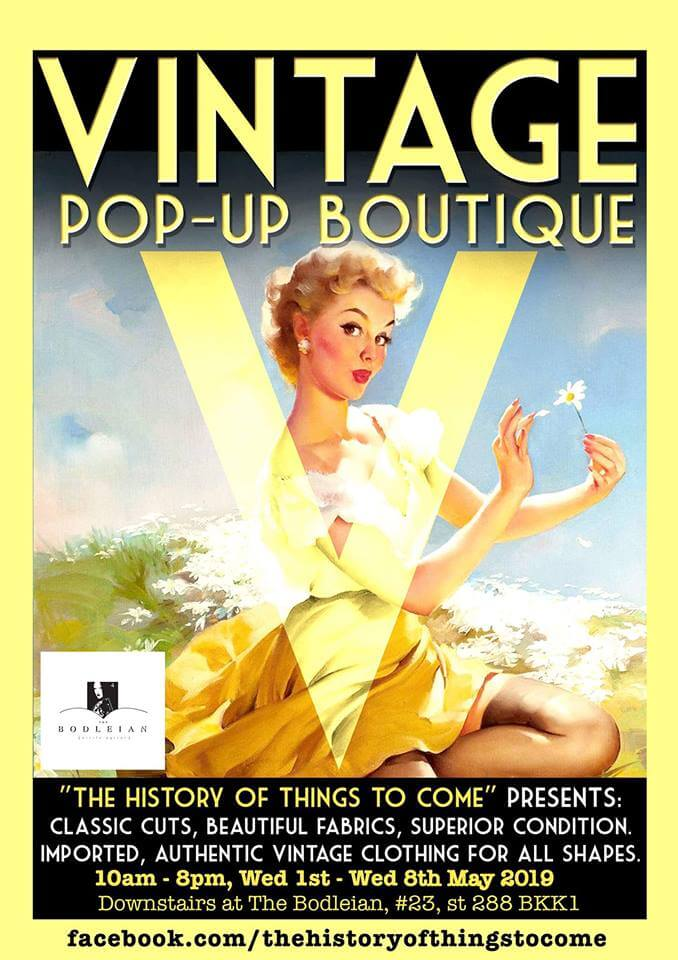 【Until May 8th】The History of Things To Come Vintage Summer Fair Phnom Penh 【until May 8th】