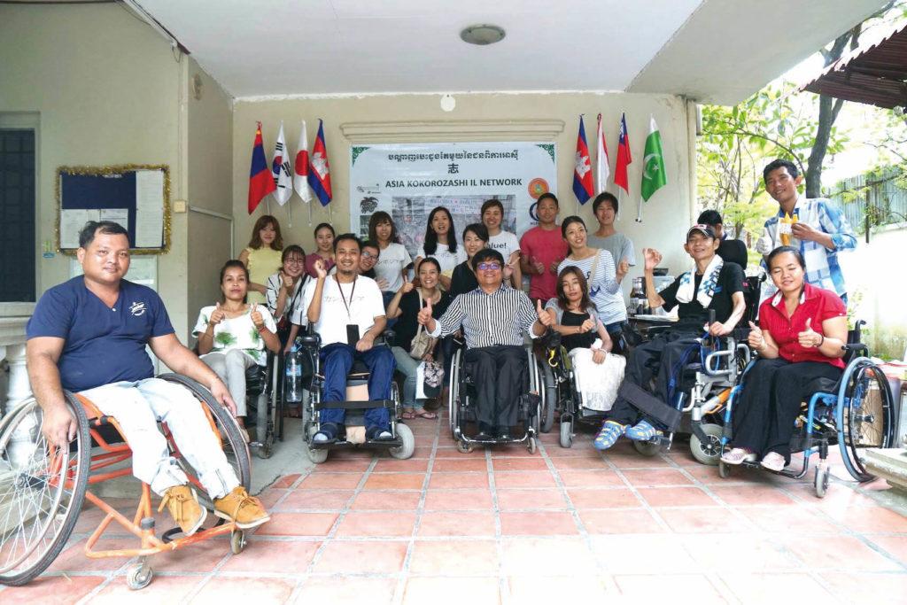 【#value!カンボジア人社会起業家紹介】障がい者の自立生活センター 「PPCIL」を設立したサミスさん