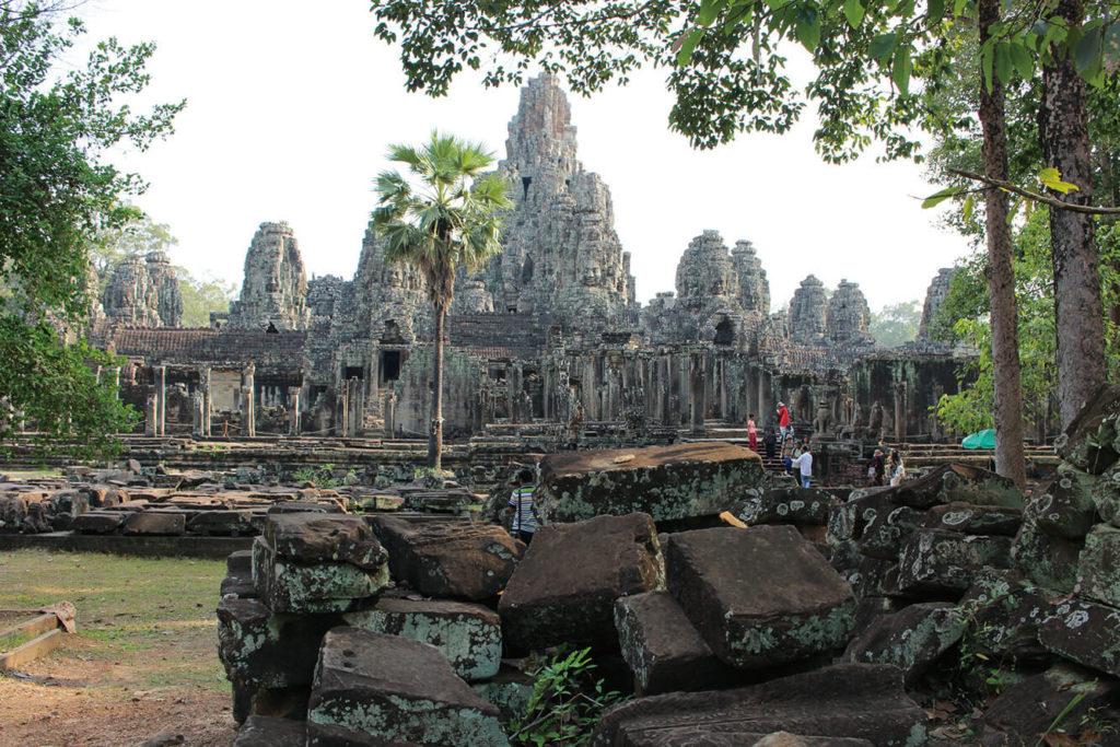 Angkor Ruins ដំណើរការជួសជុល ស្ពានហាលប្រាសាទអង្គរវត្ត និងប្រាសាទបាយ័ន
