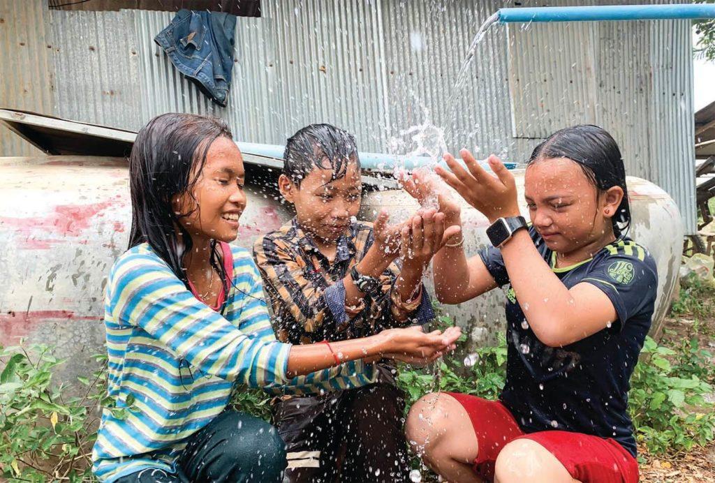 「水は人権」。カンボジアの僻地に安全な水を届けることに命を注ぐ、ウィベンチャー社
