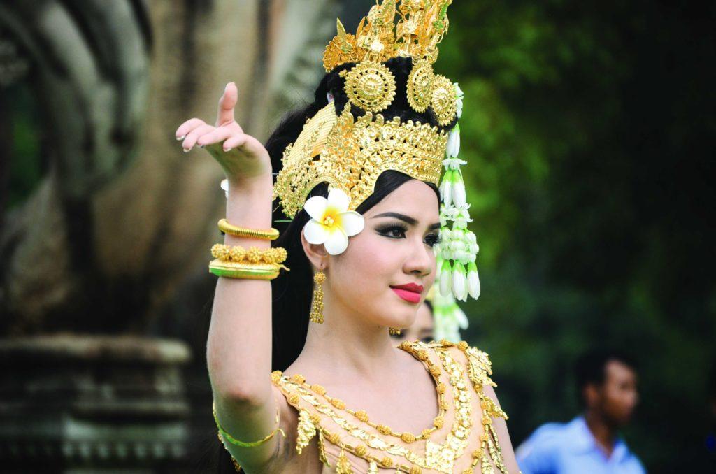 アプサラの踊り子