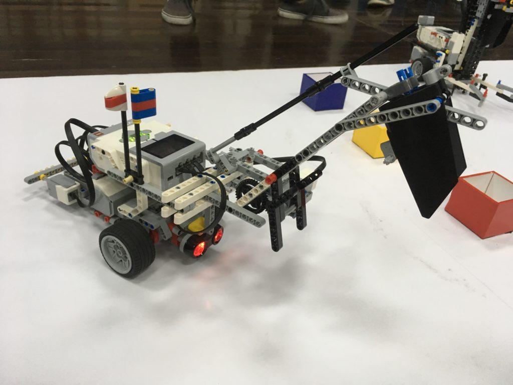 制作したロボット