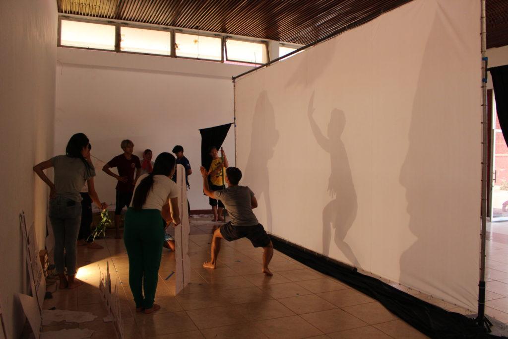 ダンスの練習