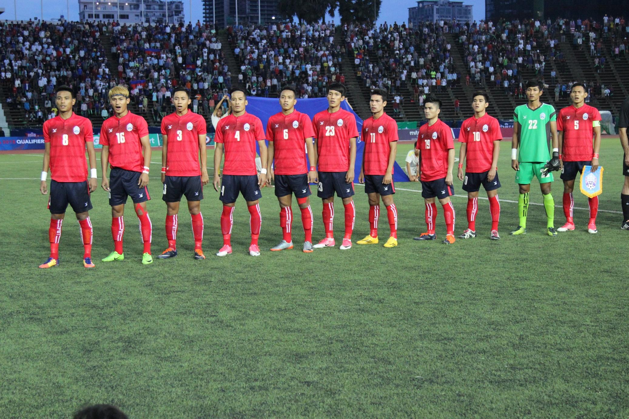 【~AFC U-23選手権2018予選レポート~】ホームの利をいかし、大健闘したカンボジア