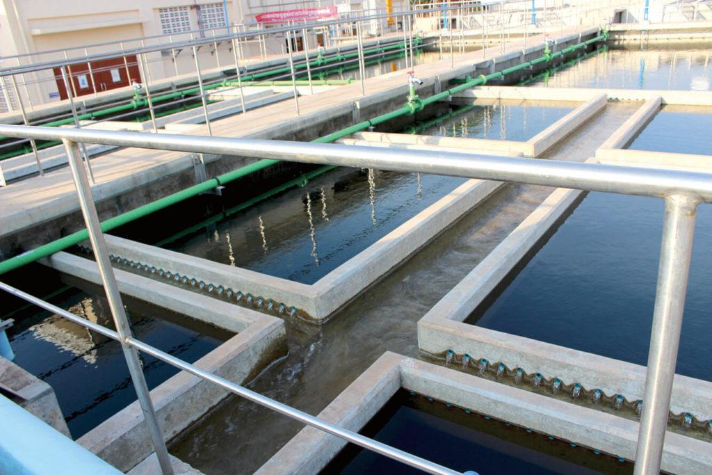 Water Supply ប្រព័ន្ធផ្គត់ផ្គង់ទឹកស្អាតខេត្តកំពត កំពុងត្រៀមផ្តល់ទឹកស្អាតជូនប្រជាពលរដ្ឋ នៅស្រុកទឹកឈូ ខេត្តកំពត ជាងមួយម៉ឺនគ្រួសារប្រើប្រាស់