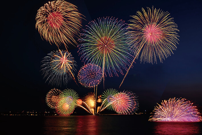 រដូវក្តៅគឺកាំជ្រួច! How beautiful! HANABI (fireworks) in Japan